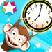 Bright Ninja Tells Time – Learn to Tell the Time with an Analog Clock